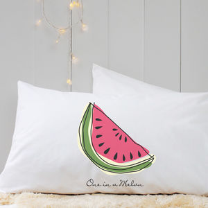 Personalised 'Fruit' Pillow Case - home sale