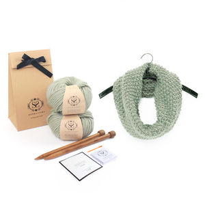 Make Your Own Beginner Mateusz Snood Knitting Kit - scarves