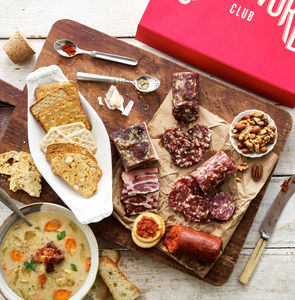 Three Month Artisan Charcuterie Subscription - free delivery gifts