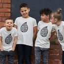 'Teardrops' Organic Children's T Shirt
