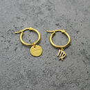 Zodiac Sign And Karma Hoops