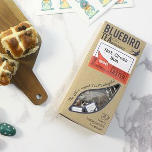 'Hot Cross Bun' Easter Tea Gift - teas, coffees & infusions