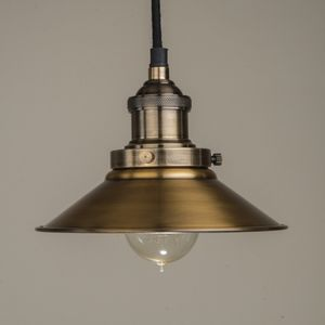 Brass Pendant Light - pendant lights