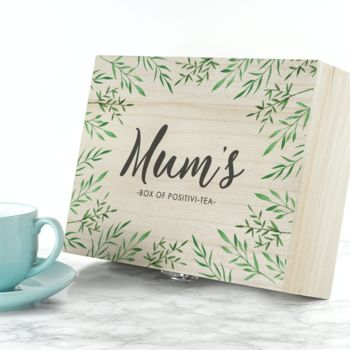Personalised Tea Box Gift