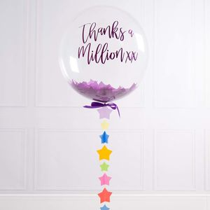 Personalised Thank You Balloon - thank you gifts