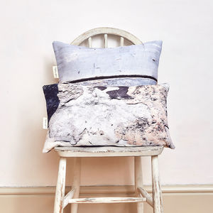 *New* Textured Slim Linen Scatter Cushion - bedroom