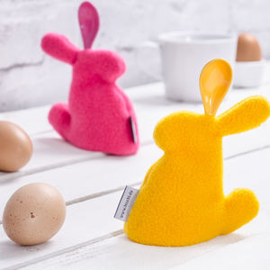 Bunny Egg Cosy And Spoon - kitchen