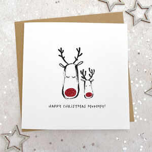 Happy Christmas Mummy Card