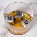 Personalised Stainless Steel Ice Cubes