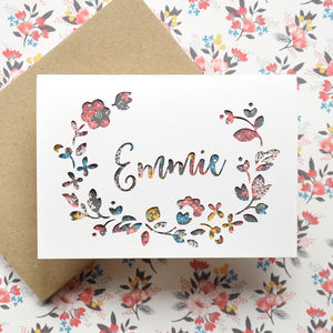 Personalised New Baby Or Birthday Card - new baby cards