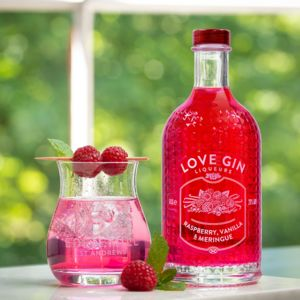 Raspberry, Vanilla And Meringue Liqueur