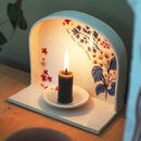 Handmade Ceramic Candle Sconce