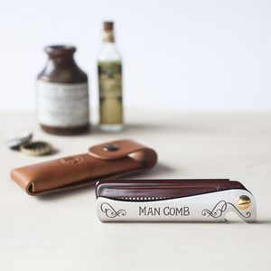 Man Comb 'Original' Brown - kitchen
