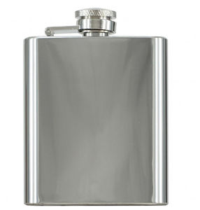 Personalised Beckett Stainless Steel Hip Flask - accessories sale
