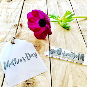 Mothers Day Clear Rubber Stamp