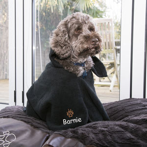 Personalised Toweling Dog Cape - dogs