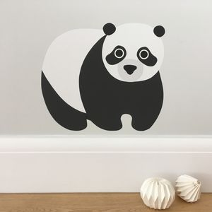 Panda Wall Sticker - baby's room
