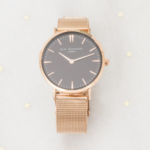 Odila Personalised Ladies Watch - rose gold jewellery