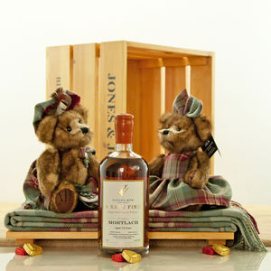 Auld Scotland Tartan Bear And Mortlach Whisky Hamper