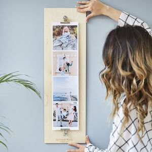 Personalised Giant Photo Strip - family & home