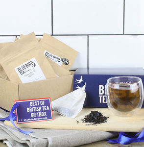'Best Of British Tea' Gift Box - tea & infusions