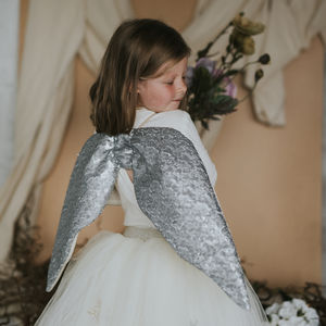 Matte Silver Wings - gifts for children