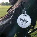 Personalised Golf Bag Tag