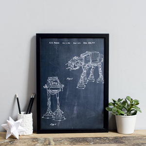 Star Wars 'Empire Strikes Back' Vehicle Print