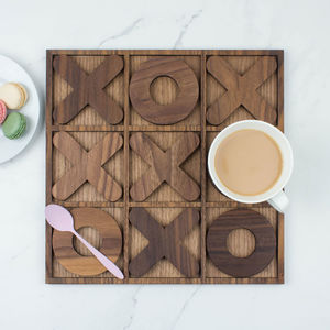 Noughts And Crosses Coaster Set - traditional toys & games