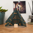 Foiled Paper Plane, Father's Day Card