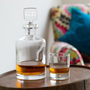 Personalised Decanter - engagement gifts