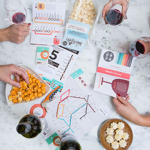Wine Social Tasting Kit - personalised