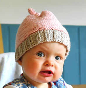 Baby Hat Beginner's Knitting Kit - babies' hats