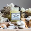 Lavender And Vanilla Salty Sea Scrub