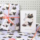 'Christmas Furry' Cat Christmas Card