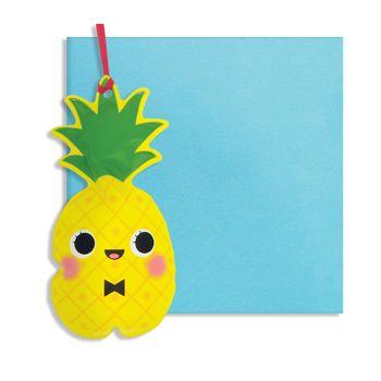 Pineapple Inflatable Card