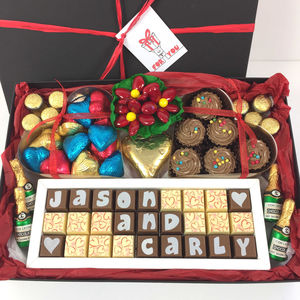 Large Personalised Chocolate All Occasion Gift Box - hampers