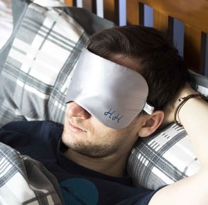 Personalised Men's Silk Eye Mask - personalised