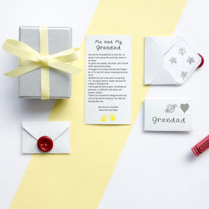 Personalised Happy Birthday Grandad Poem Gift - birthday cards