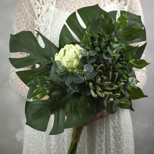 The Greenery Bouquet, Paper And Faux Foliage Collection - new in wedding styling