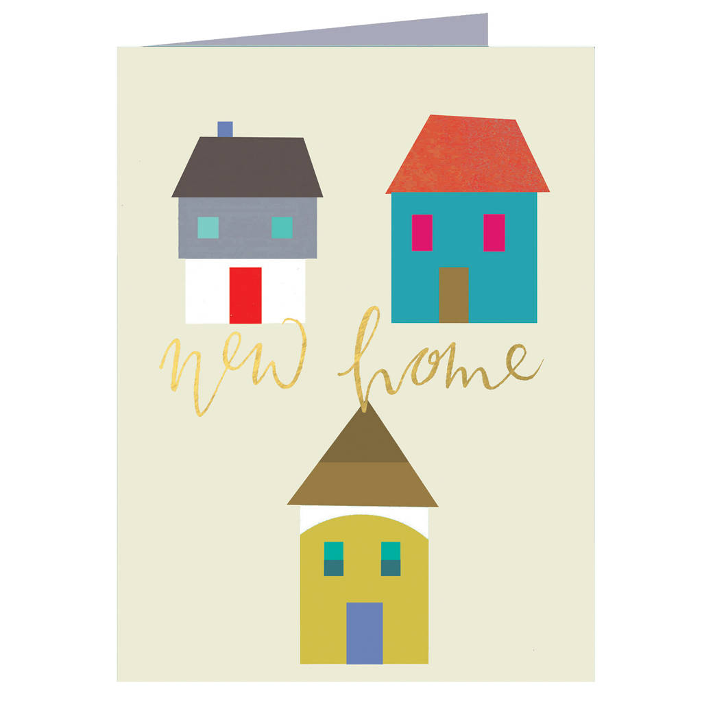 New home mini greetings card by kali stileman publishing new home mini greetings card kristyandbryce Image collections