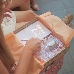Personalised Engagement Gift Box Winning At Wedmin