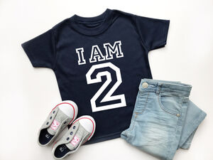 I Am Two, Varsity 2nd Birthday Top