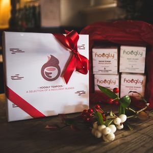 Gift Box With Four Indulgent Teapods