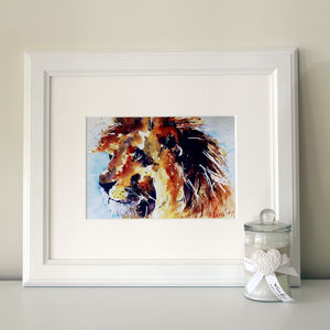 Lion Print, Lord Leo - prints & art sale