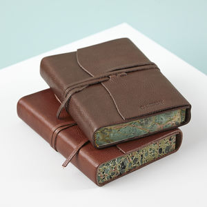 Personalised Leather Journal - notebooks & journals