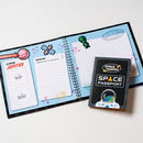 Space Journey Log Book and Passport