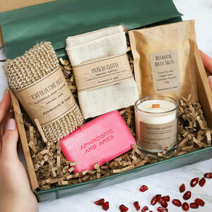 Personalised Vegan Eco Pampering And Relaxing Kit