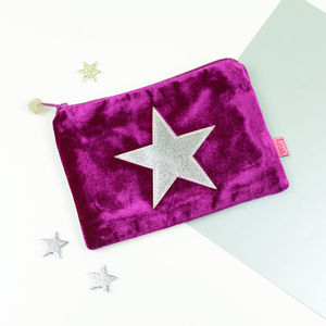 Velvet Star Purse - children's accessories