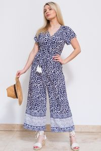 Sophie Jumpsuit Navy - women's fashion